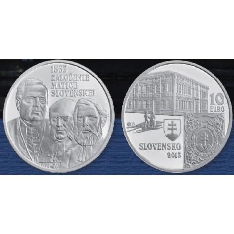 10 Euro Slovakia 2013 - Matica Slovenska (BU)