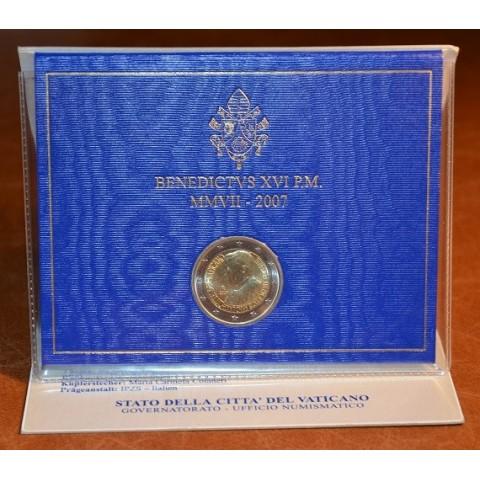2 Euro Vatican 2007 - 80. birthday of Pope Benedictus XVI (BU)