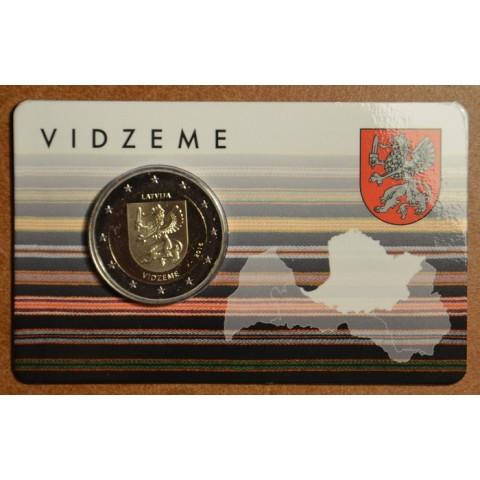 2 Euro Lotyšsko 2016 - Región Vidzeme (BU)