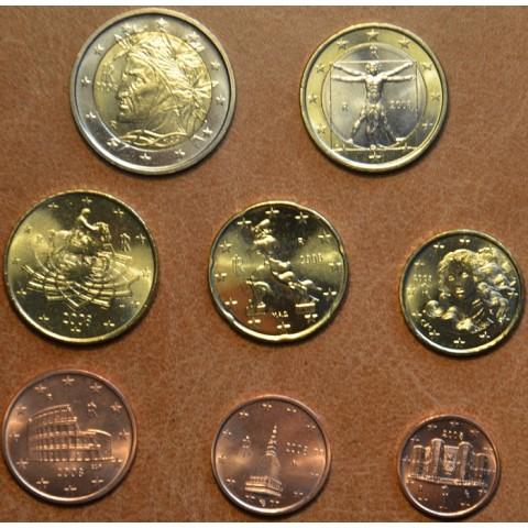 Sada 8 talianskych mincí 2008 (UNC)