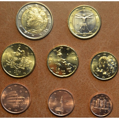Set of 8 coins Italy 2008 (UNC)