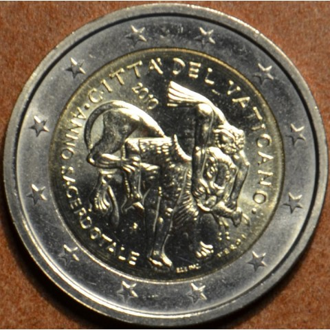 2 Euro Vatican 2010 - Year for priests (UNC w/o folder)