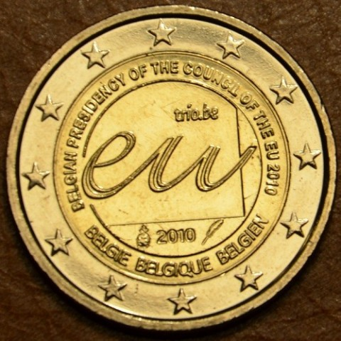 2 Euro Belgium 2010 - Belgian Presidency of the Council of the European Union (UNC)