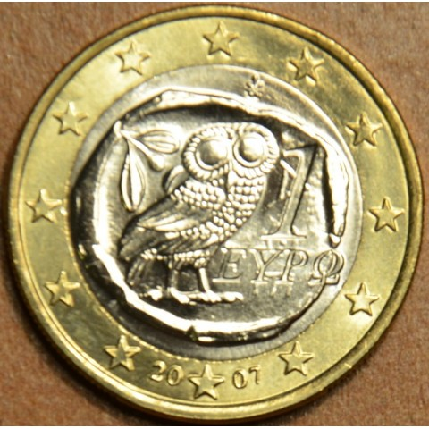 1 Euro Grécko 2007 (UNC)