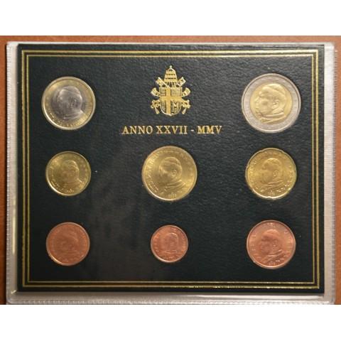 Sada 8 euromincí Vatikan 2009  (BU)