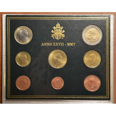 Set of 8 eurocoins Vatican 2009  (BU)