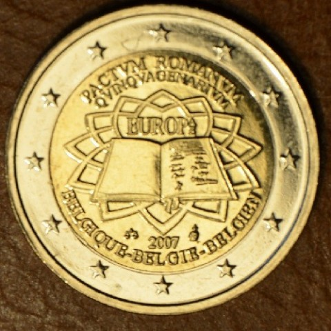 2 Euro Belgium 2007 - 50th anniversary of the Treaty of Rome (UNC)
