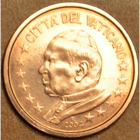 1 cent Vatican His Holiness Pope John Paul II 2004 (BU)