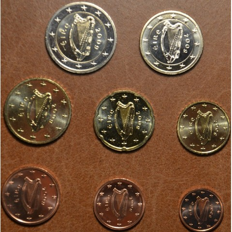 Set of 8 coins Ireland 2009 (UNC)