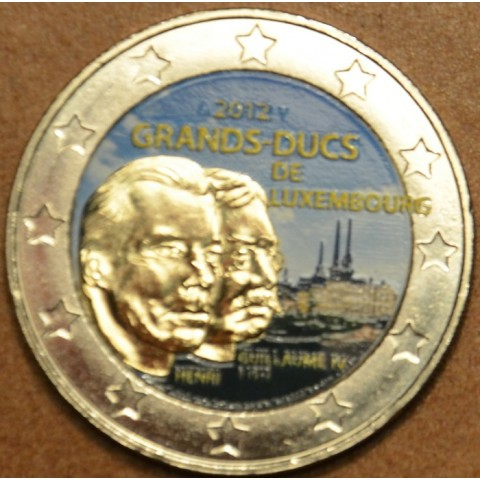 2 Euro Luxembourg 2012 -100th Anniversary of the death of the William IV. - II. (colored UNC)