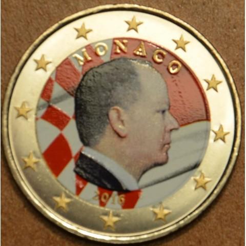2 Euro Monaco 2016 (colored UNC)