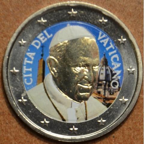 2 Euro Vatican 2015 - Francesco (colored UNC)