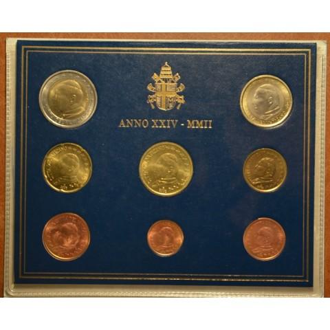 Set of 8 eurocoins Vatican 2002  (BU)