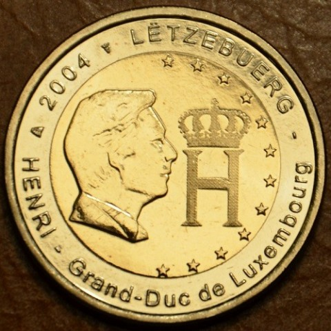 2 Euro Luxembourg 2004 - Effigy and monogram of Grand-Duke Henri (UNC)