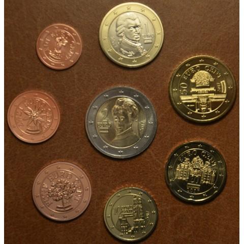 Set of 8 coins Austria 2017 (UNC)