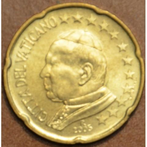 20 cent Vatican His Holiness Pope John Paul II 2005 (BU)