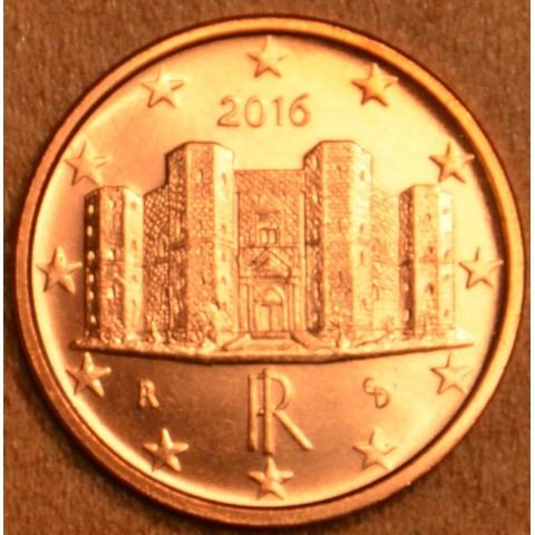 1 cent Italy 2016 (UNC)