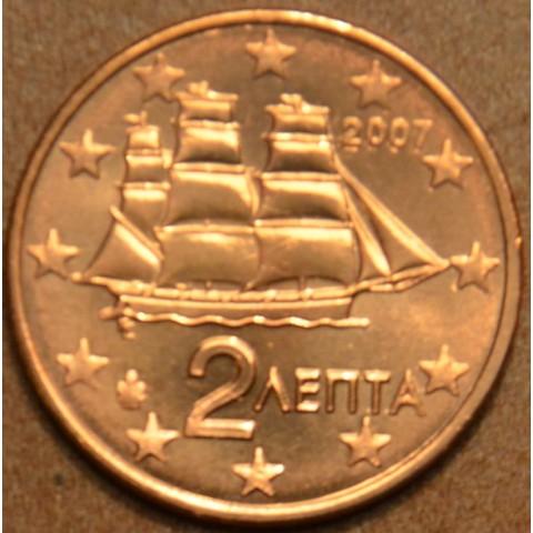 2 cent Grécko 2007 (UNC)