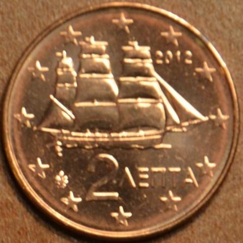 2 cent Grécko 2012 (UNC)