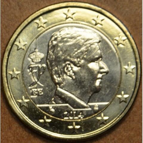 1 Euro Belgicko 2014 - Filip (UNC)