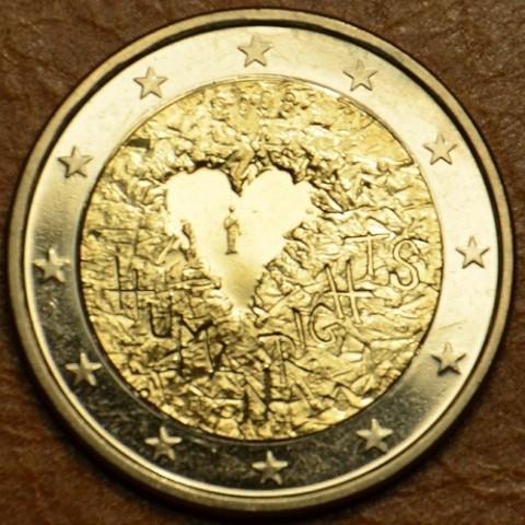 2 Euro Fínsko 2008 - 60. výročie Všeobecnej deklarácie ľudských práv (UNC)