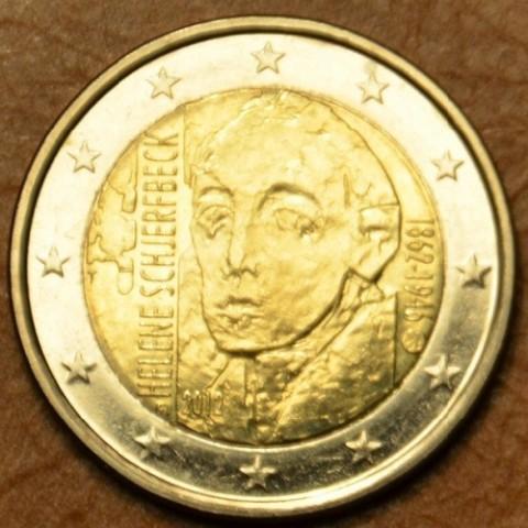 2 Euro Fínsko 2012 - 150. výročie narodenia Helene Schjerfbecka  (UNC)