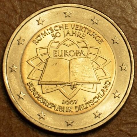 "2 Euro Germany ""J"" 2007 - 50th anniversary of the Treaty of Rome (UNC)"