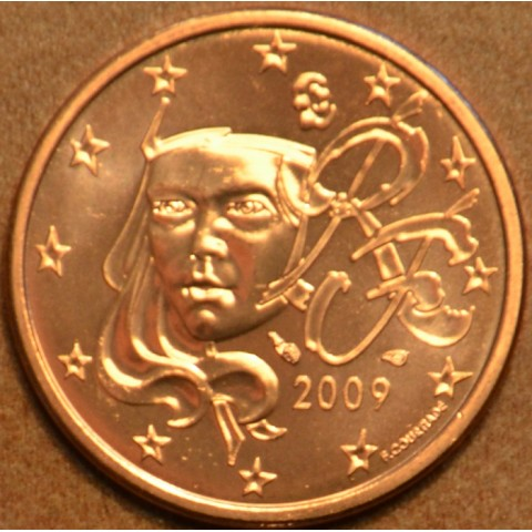 1 cent France 2009 (UNC)