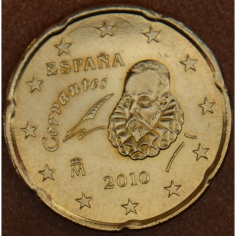 20 cent Španielsko 2010 (UNC)