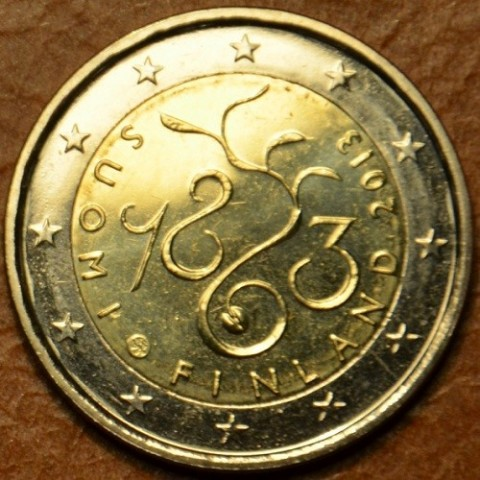 2 Euro Finland 2013 - 150th Anniversary of Parliament of 1863 (UNC)