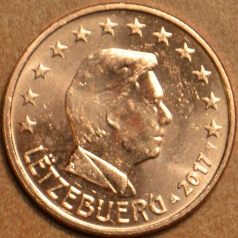 5 cent Luxembursko 2017 (UNC)