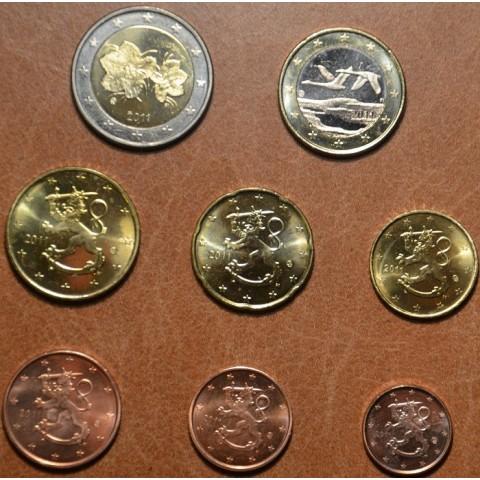Set of 8 eurocoins Finland 2011 (UNC)