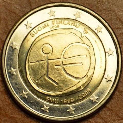 2 Euro Fínsko 2009 - 10. výročie hospodárskej a menovej únie  (UNC)
