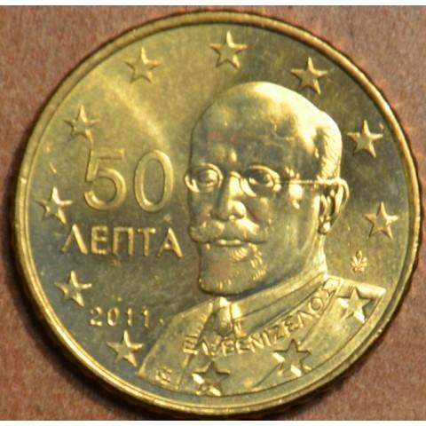 50 cent Grécko 2011 (UNC)