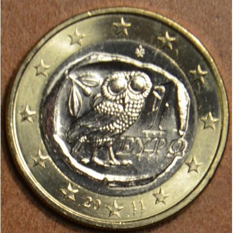 1 Euro Grécko 2011 (UNC)
