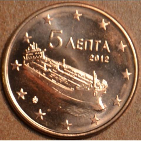 5 cent Greece 2012 (UNC)