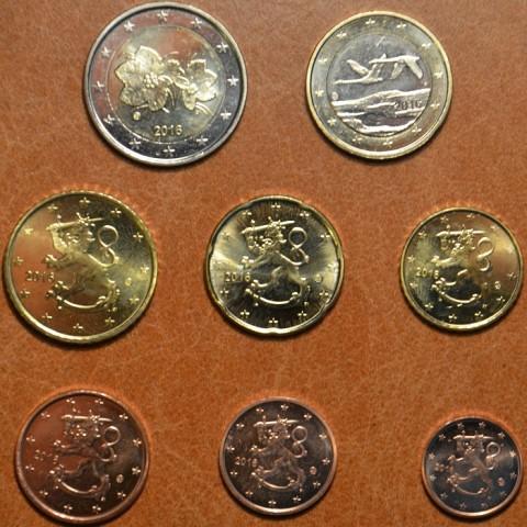 Set of 8 eurocoins Finland 2016 (UNC)
