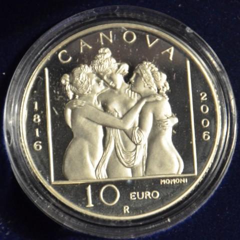 10 Euro San Marino 2006 - Antonio Canova (Proof)