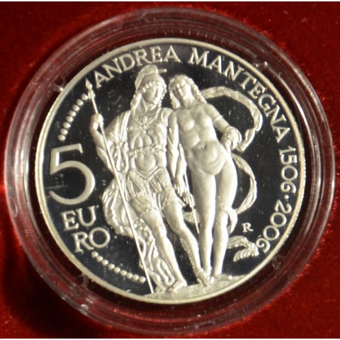 5 Euro San Marino 2006 - Andrea Mantegna (Proof)