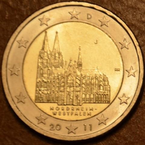 "2 Euro Germany ""J"" 2011 - North Rhine-Westphalia: Cathedral in Köln (UNC)"