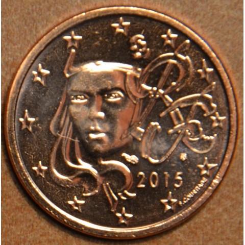 2 cent France 2015 (UNC)