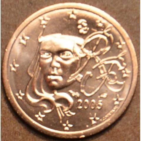 2 cent Francúzsko 2005 (UNC)
