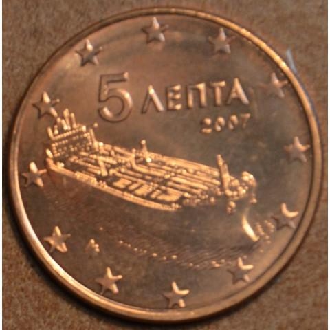 5 cent Grécko 2007 (UNC)