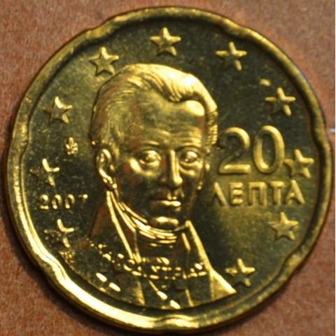 20 cent Grécko 2007 (UNC)