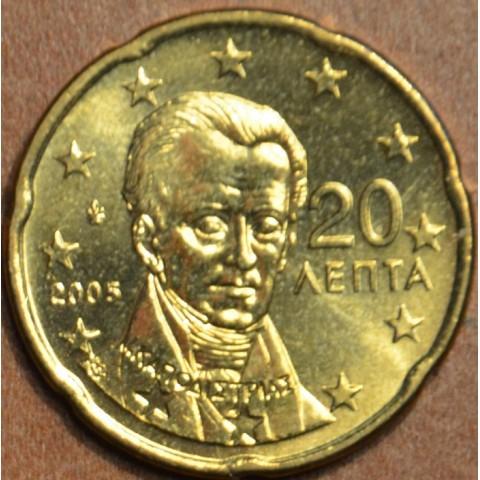 20 cent Grécko 2005 (UNC)