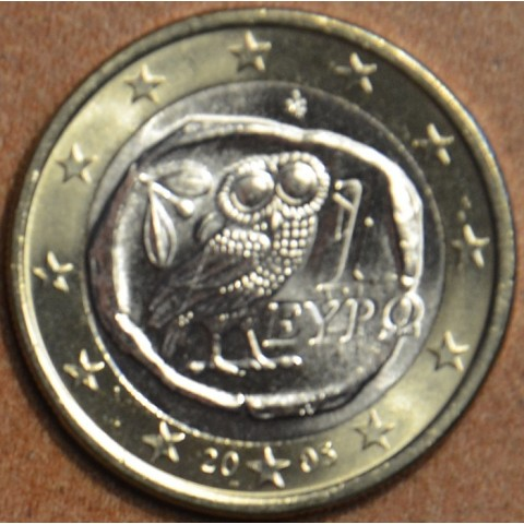 1 Euro Grécko 2005 (UNC)