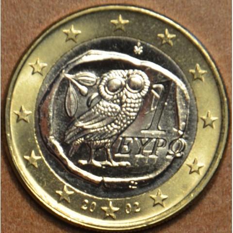 1 Euro Grécko 2002 (UNC)