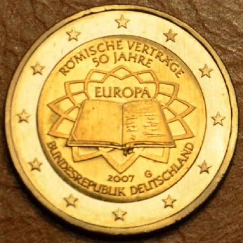 "2 Euro Germany ""G"" 2007 - 50th anniversary of the Treaty of Rome (UNC)"