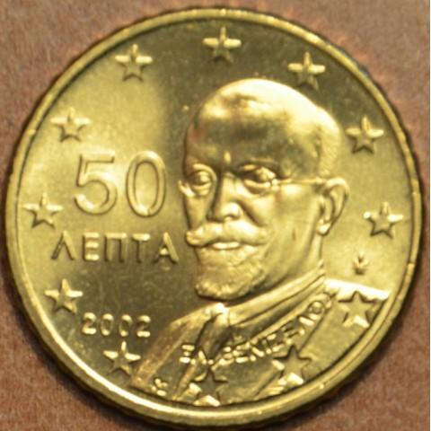 50 cent Grécko 2002 (UNC)