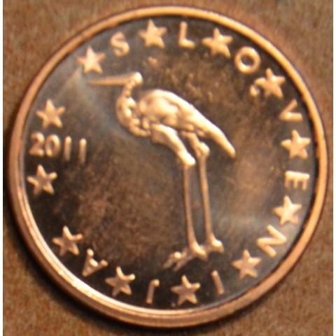 1 cent Slovenia 2011 (UNC)